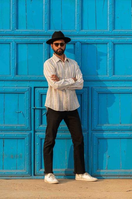 Dushyant Asthana The Amir Long Sleeves Shirt - Multicolor Stripes