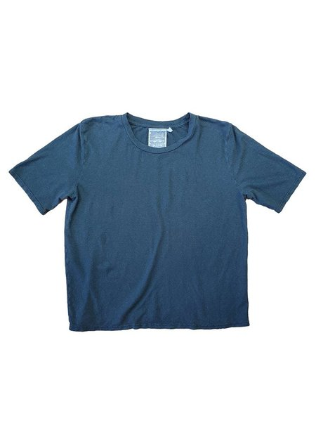 Jungmaven Cropped Silverlake Tee -  Forest Green