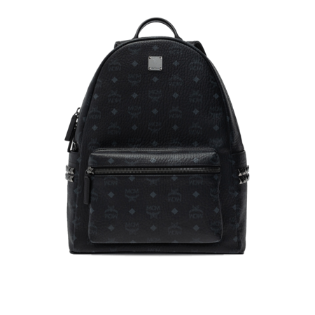 MCM Stark Side Studs MMKAAVE09-BK Backpack - Black