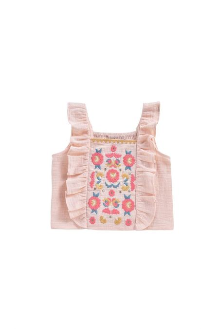 Kids Louise Misha Hadiya Top - Blush