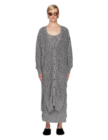 Y's Linen & Cotton Grey Cardigan