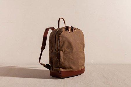 Joshu + Vela Zip Backpack - TAN WAX