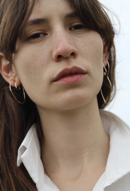 Knobbly Studio Abstract Nude Earrings