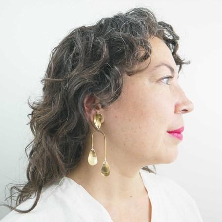 Seaworthy Epiphyte Earrings - Silver