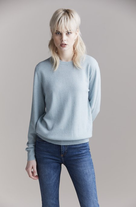 Laing Home The Essential Cashmere Crew sweater - Misty Jade