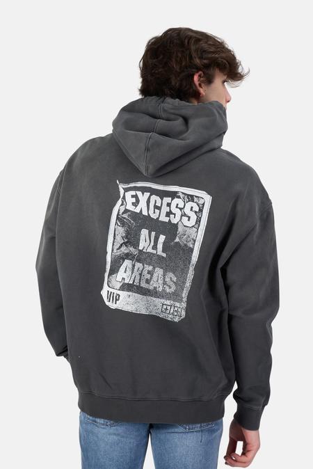 Ksubi Excess Biggie Hoodie Sweater - Charcoal
