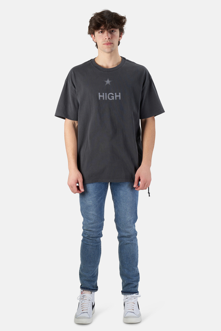 Ksubi High T-Shirt - Washed Grey