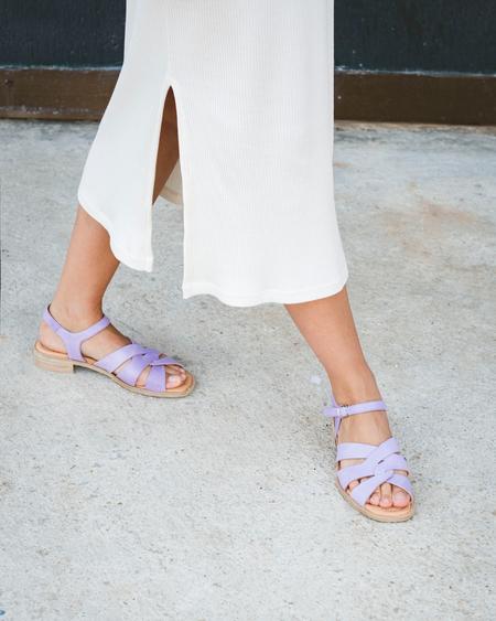 Naguisa Caliza sandal - Purple