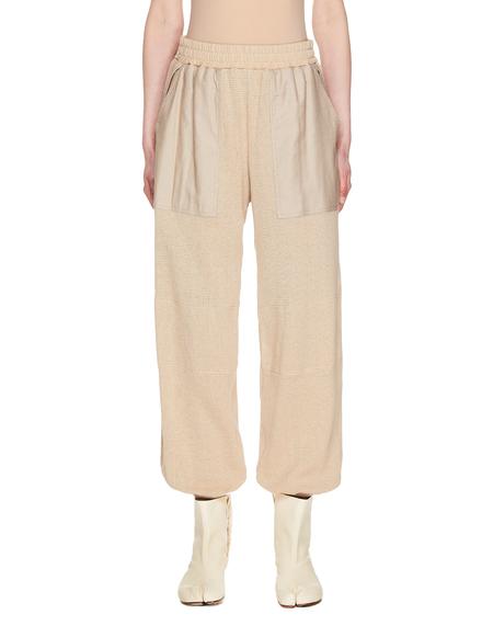 Y's Knitted Sweatpants - Beige