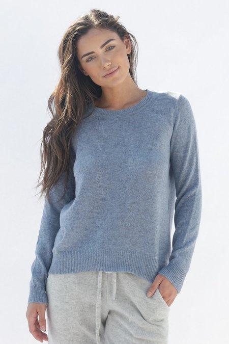 Oats Cashmere Kendra Sweater - Chambray
