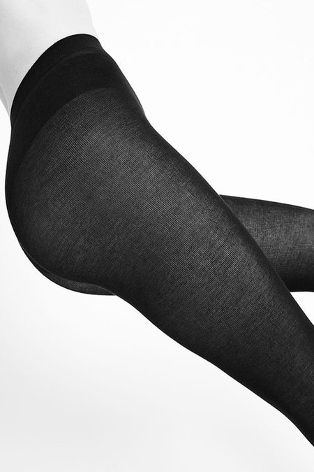Swedish Stockings ALICE CASHMERE LEGGINGS - Black