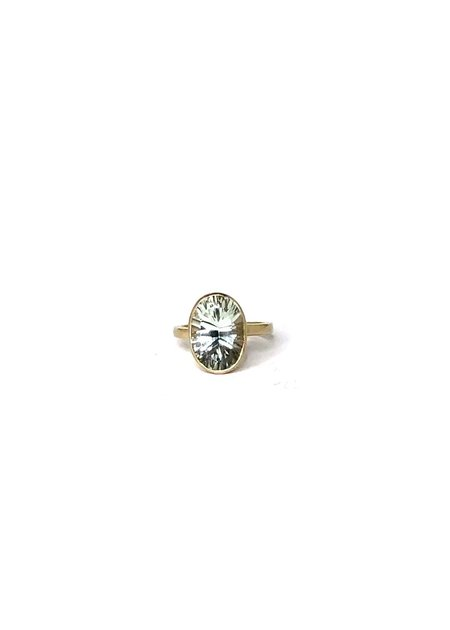 5 Octobre 5370 Amethyst Ring - 14K Gold Vermeil