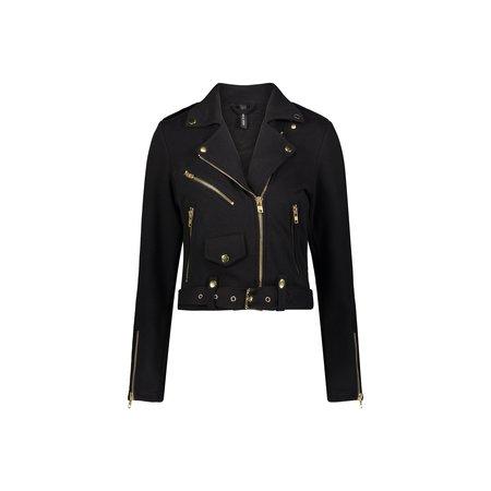 Adam Selman Sport Cozy Moto Jacket