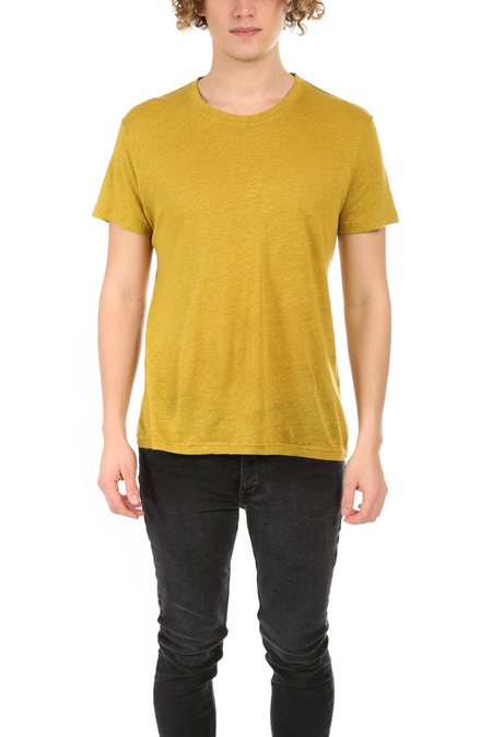 IRO Jaoui Slub T-Shirt - Mustard