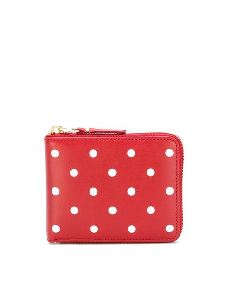 Comme des Gorçons Wallet - Pois Wallet with Zip