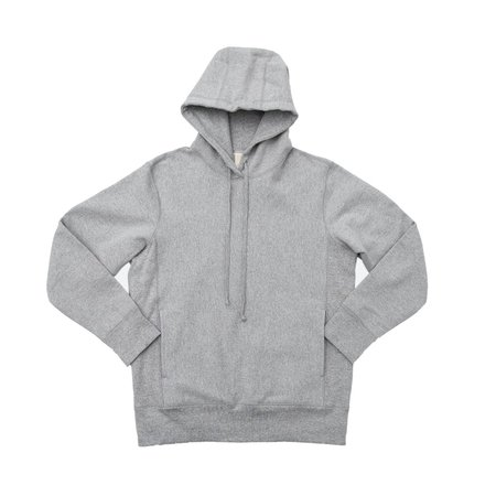 3Sixteen HPO Heavy Weight Pullover Hoody - Heather Grey