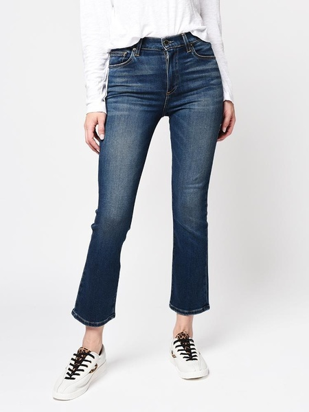 Le Jean Bella Crop Kick Flare jeans