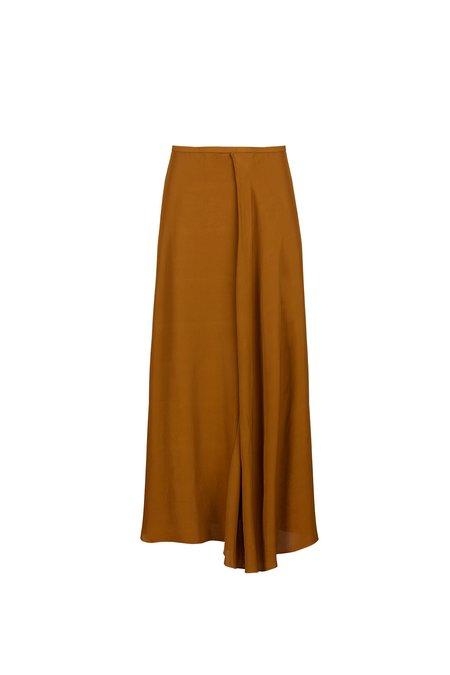 Pomandere Asymetrical Oil Skirt