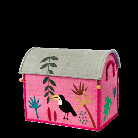 Kids Small Toy Basket - Jungle Design