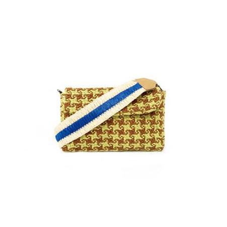 Maria La Rosa Sun Handle Shoulder Bag - Lime