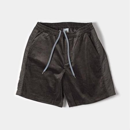 TANGTANG EZ Cords/Nylon Relax Shorts - Brown