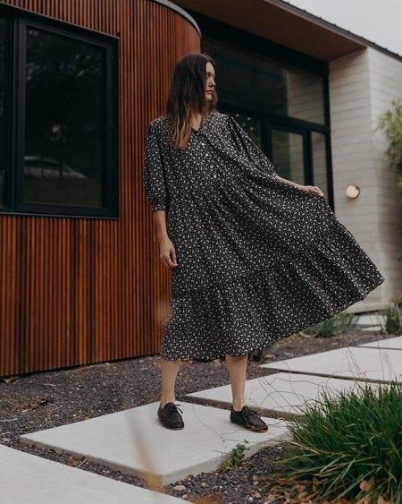 Esby PHILIPPA DRESS - BLACK RISTRA