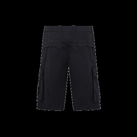Stone Island Bermuda Shorts - Black