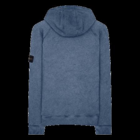 Stone Island Sweat-Shirt Hoodie - Periwinkle Blue