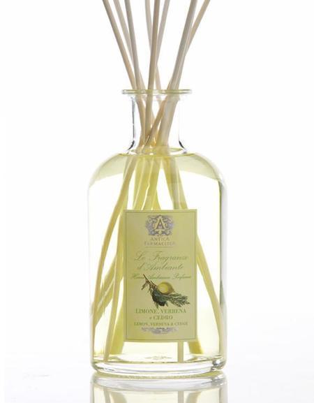 Antica Farmacista 500 ml Diffuser. Lemon, Verbena & Cedar