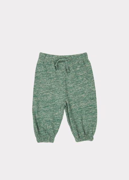 Kids Caramel Seahorse Baby Trousers - Green Melange