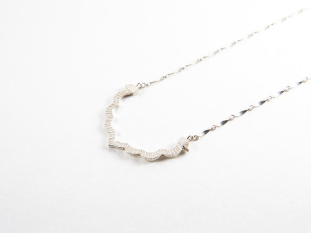 Sarah A. Sears Edie Necklace (Silver)
