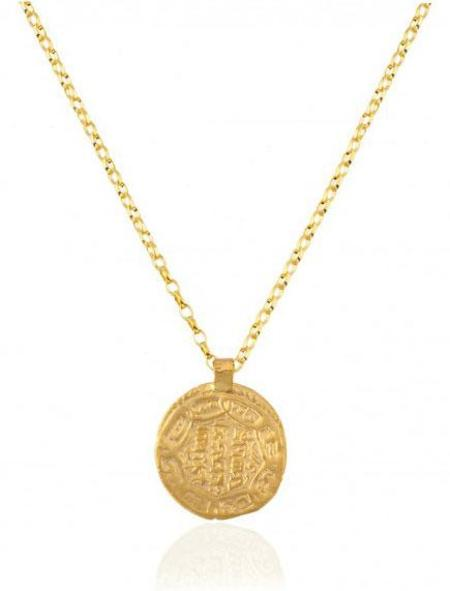Maison Irem Coin Pamba Necklace - Gold