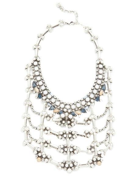 Dannijo Galileo Bib Necklace - Multi