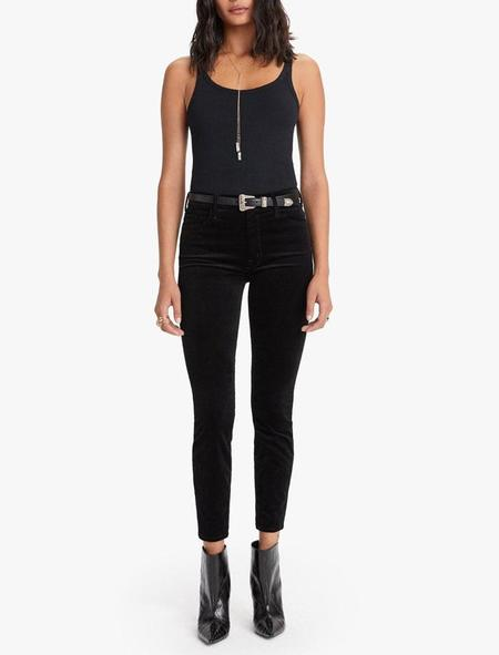Mother Denim High Waisted Looker Ankle - Soft Skills