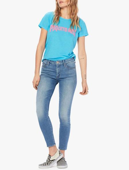 Mother Denim Looker Crop - A Side Of Rice And Beans