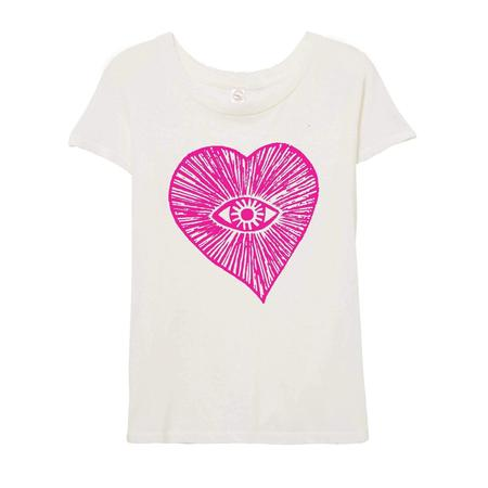 LUCKY FISH One Love T-Shirt - White