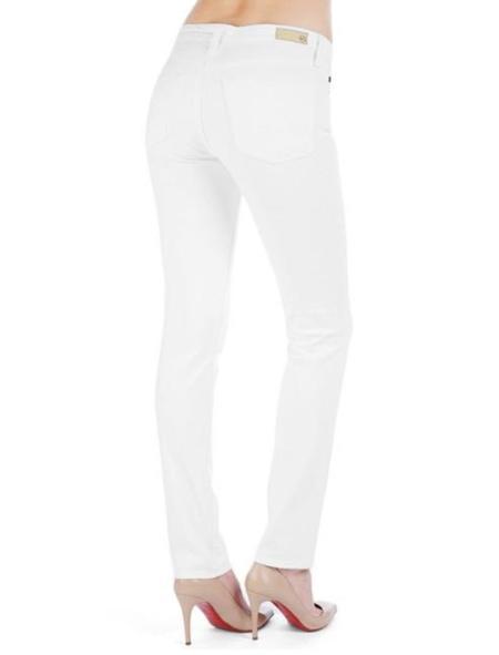 AG Jeans Prima cigarette jean - white
