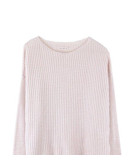 It Is Well L.A. Tencel Pointelle Sweater