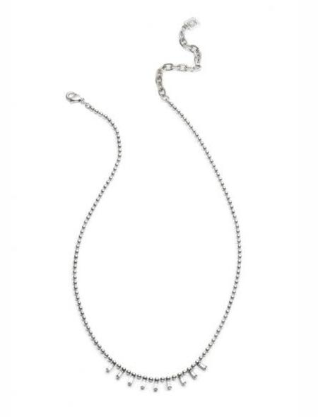 Dannijo Shae Necklace - silver