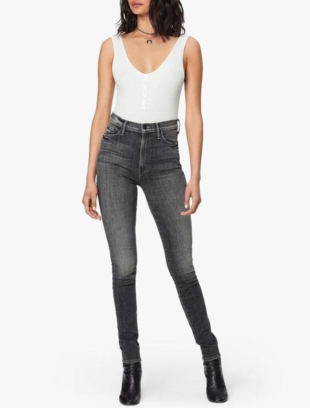 Mother Denim Super Swooner Jeans - Open Late