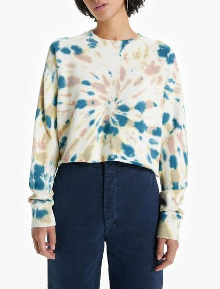 Mother Denim The Loafer Crop Fray - Delusional