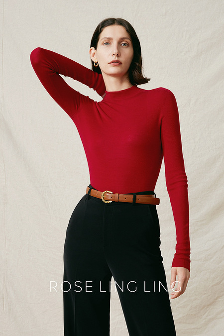 ROSE LING LING Wool Sweater