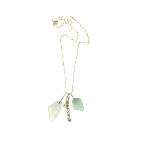 Olwen Lagoon Necklace - 14k gold filled