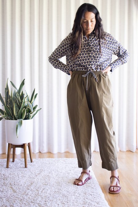 Odeeh Gold Trouser - Olive