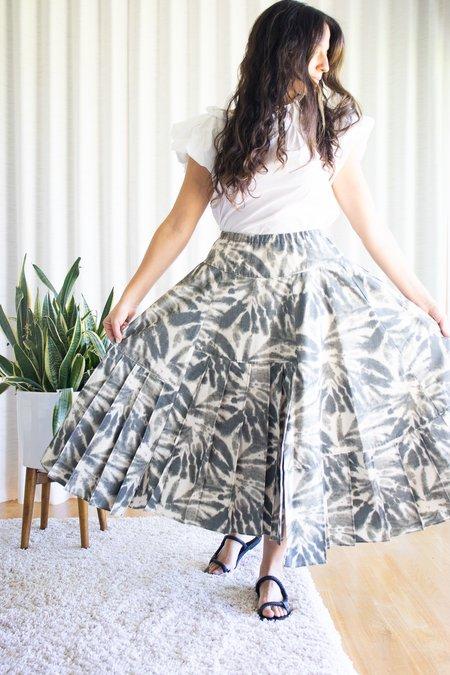Odeeh Shadow Skirt - Green