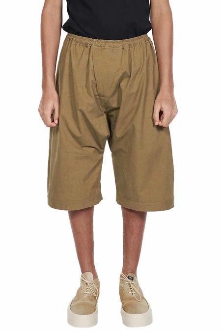Jan-Jan Van Essche Baggy Shorts - Desert