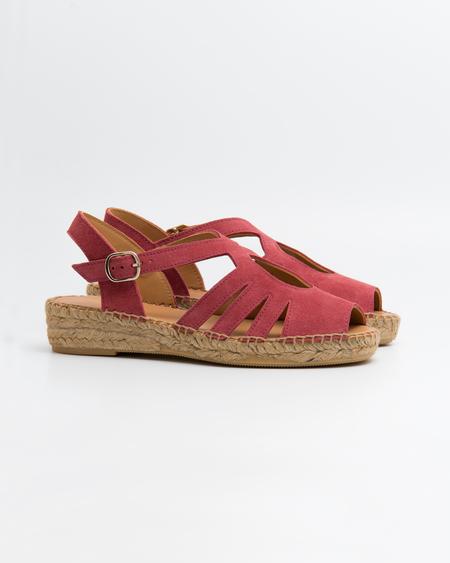 Naguisa Mimosa Espadrilles - Dark Pink