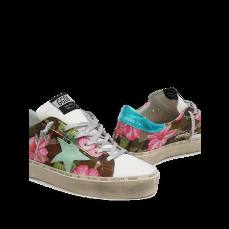 Golden Goose Hi Star Sneakers - Camouflage/Hibiscus