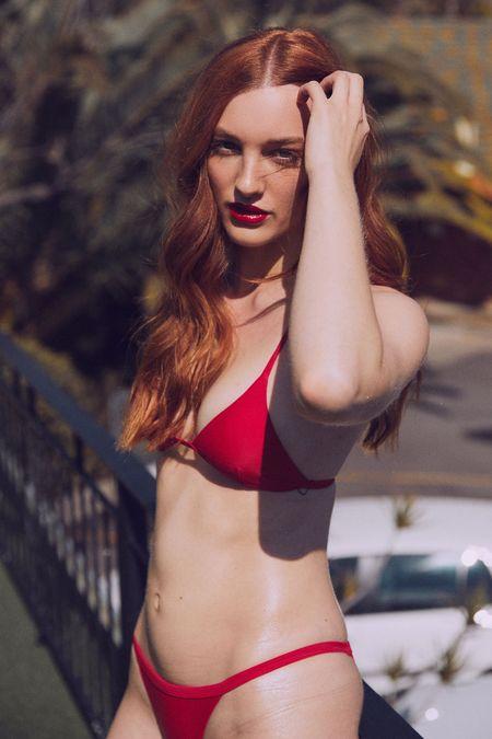 baaby The Margot Brief - Red Velvet