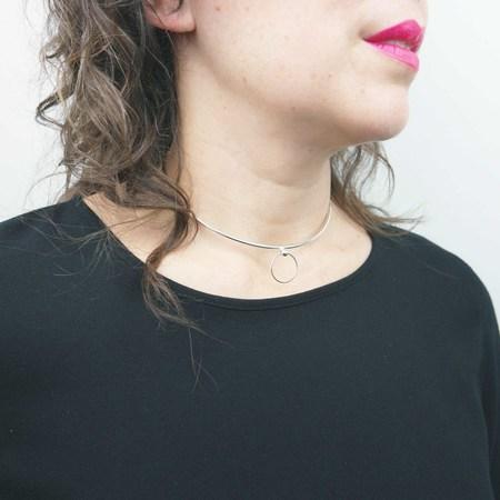 Cosmic Twin Bondage Collar Necklace
